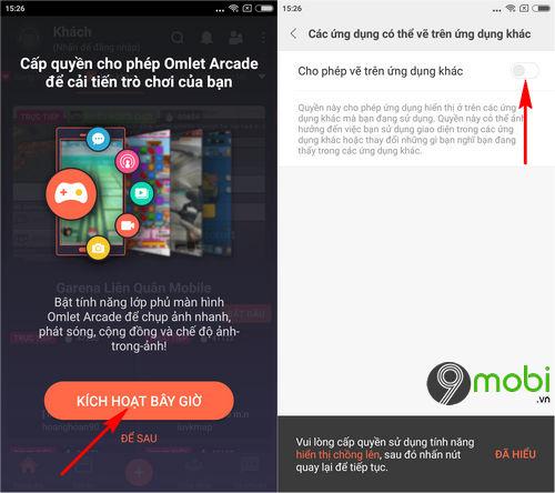 huong dan quay video lien quan mobile tren dien thoai iphone android 9