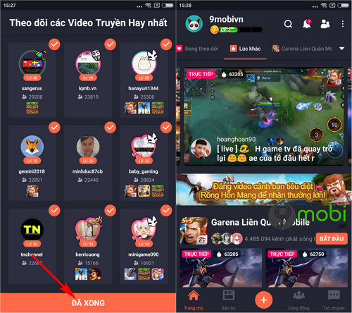 huong dan quay video lien quan mobile tren dien thoai iphone android 10