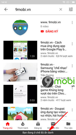 cach xem video youtube an danh tren dien thoai android 4