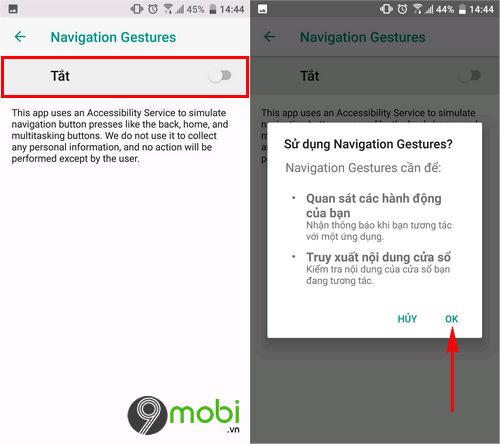 huong dan mang thanh dieu huong cu chi cua oneplus 6 len dien thoai android khac 3