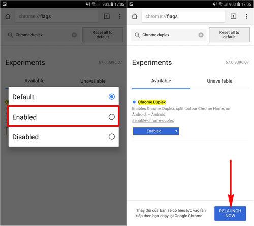 Cách thay đổi giao diện Google Chrome trên điện thoại Android
