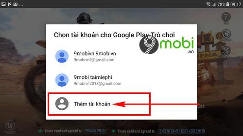 quen mat khau pubg mobile lay lai nhu the nao 3