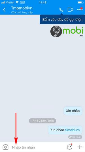 cach doi font chu co chu zalo khi chat tren iphone 3