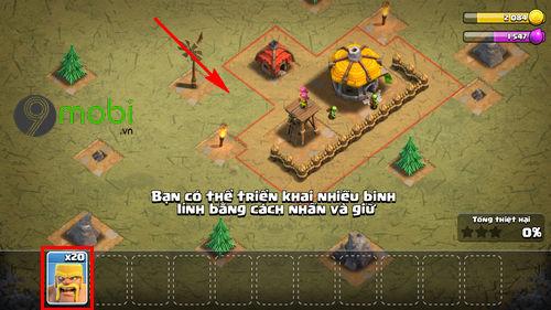 cach cai va choi clash of clans tren dien thoai 15