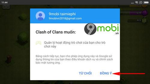 cach cai va choi clash of clans tren dien thoai 5