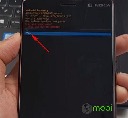 cach ha android 9 p xuong ban 8 1 12