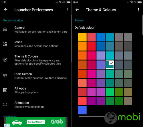 cach cai giao dien windows 10 mobile tren dien thoai android bang launcher 10 7