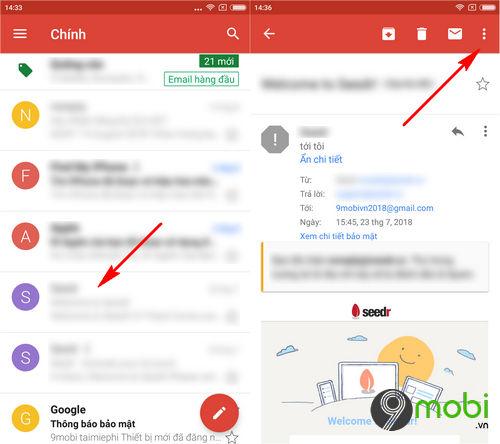 cach chan email spam tren ung dung gmail cho dien thoai 4