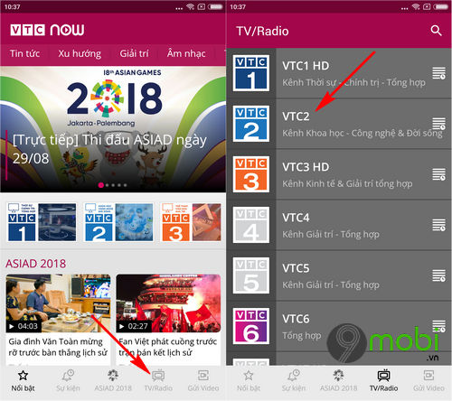 cach tai va cai dat vtc now cho dien thoai android iphone 4
