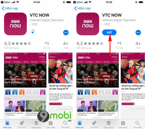 cach tai va cai dat vtc now cho dien thoai android iphone 8