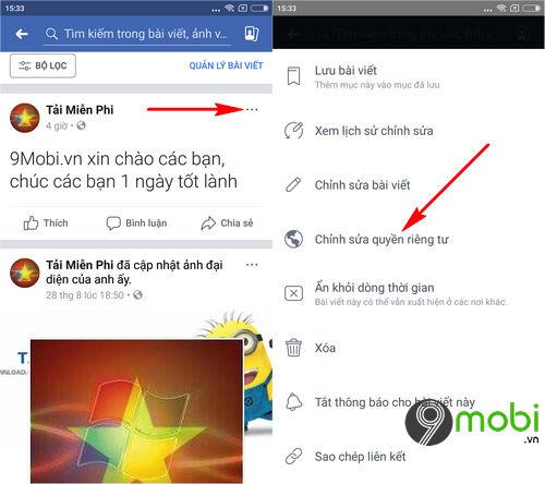 cach dang bai facebook chi minh toi tren dien thoai 6