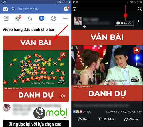 cach them bo theo doi trang video tren facebook watch 4