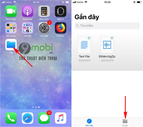 cach tai file tren iphone bang trinh duyet firefox 6