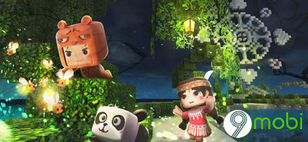 mini world block art game hanh dong sinh ton tren dien thoai