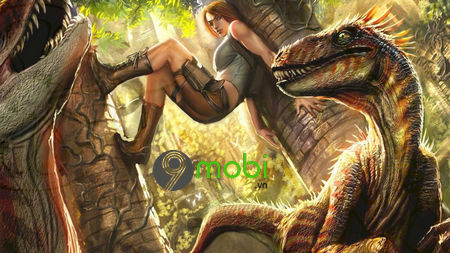 game sinh ton ark survival evolved tren dien thoai android iphone