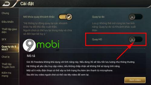 cach quay lai highlight khi choi lien quan mobile 5