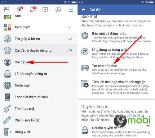 cach go ung dung tro choi tren facebook 3