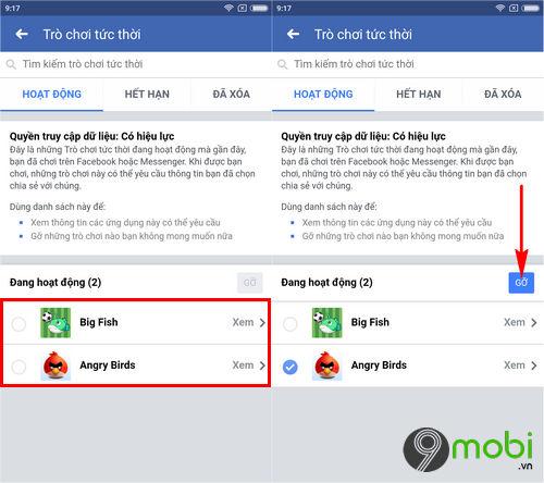 cach go ung dung tro choi tren facebook 4