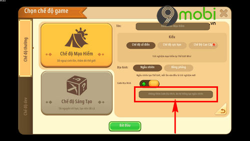 cach su dung ma code map trong mini world 6