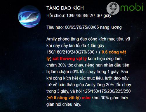 huong dan choi amily trong lien quan mobile 3