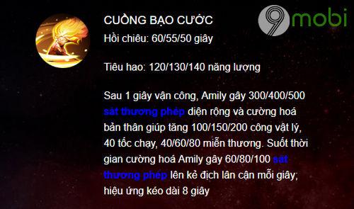 huong dan choi amily trong lien quan mobile 5
