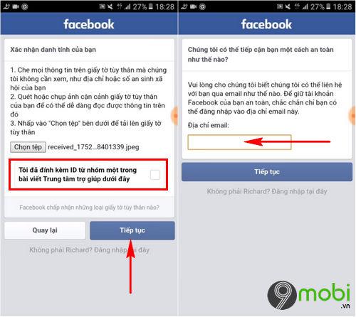 cach xac minh danh tinh facebook tren dien thoai bang giay to tuy than 7