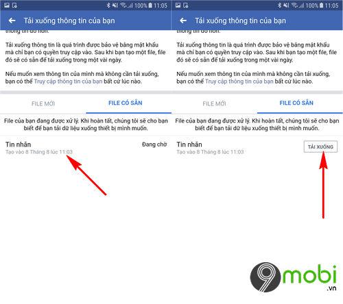 cach khoi phuc tin nhan facebook da xoa tren android 5