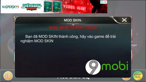 huong dan mod skin ronaldo cr7 lien quan mobile 7