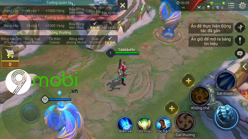 huong dan mod skin ronaldo cr7 lien quan mobile 9