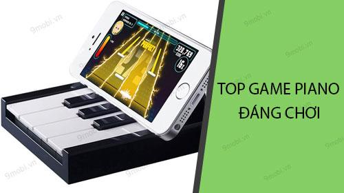 top game piano dang choi tren dien thoai