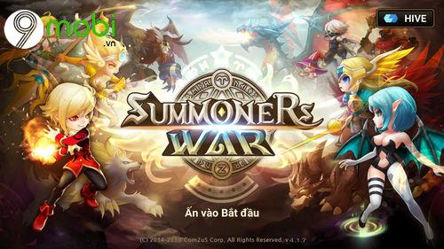huong dan cai va choi summoners war tren dien thoai 6