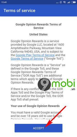 huong dan tao tai khoan google opinion rewards 5