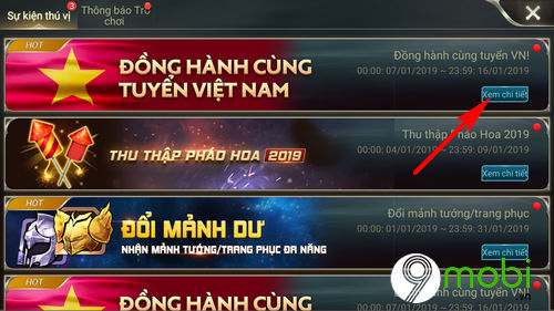 huong dan tham gia su kien dong hanh cung tuyen vn lien quan mobile 3
