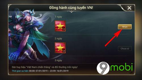 huong dan tham gia su kien dong hanh cung tuyen vn lien quan mobile 4