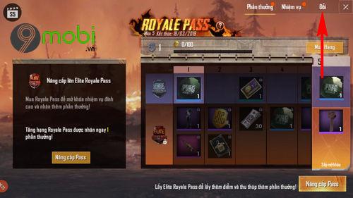 pubg mobile cach mua do o royal pass 3