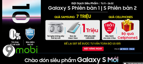tong hop website cho dat hang truoc galaxy s10 4