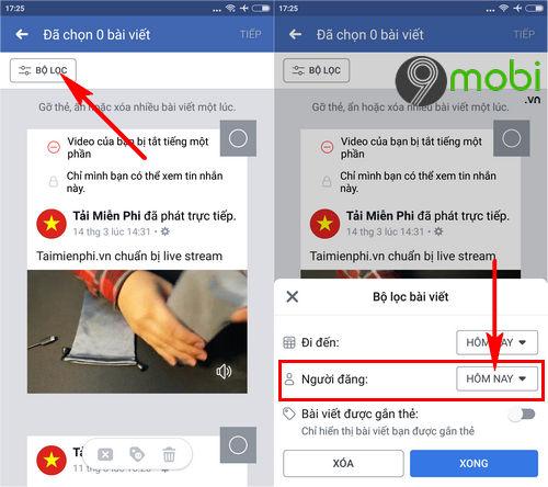 huong dan don sach tuong facebook tren dien thoai 3