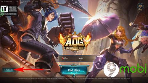 sua loi khong vao duoc game dau truong vinh quang 4