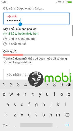 sua loi khong the tao tai khoan icloud apple id 3