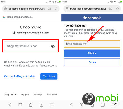 link lay lai mat khau facebook bang email sdt 4