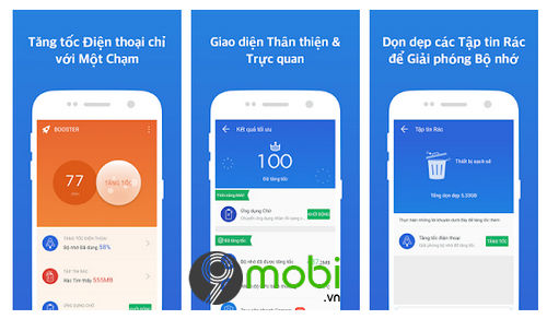 top 5 ung dung giup tang toc dien thoai android cham 5