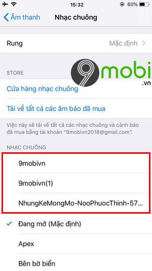 meo xoa nhac chuong tren iphone khong can may tinh 10