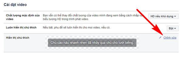 huong dan tuy chinh phu de video tren facebook 5