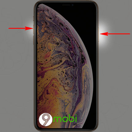 cach chup anh full man hinh iphone x xs max 3