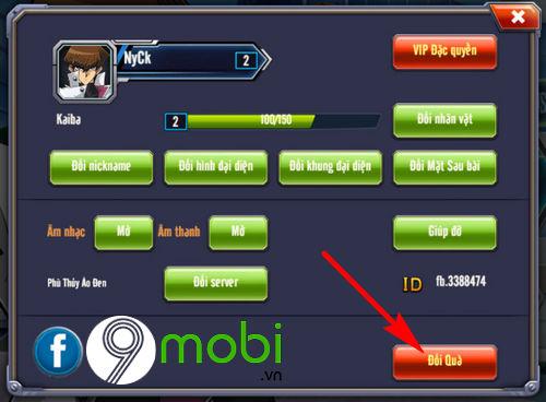 giftcode vua tro choi 3