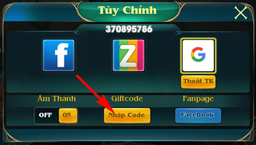 cach nhan code chien tuong zingplay 3