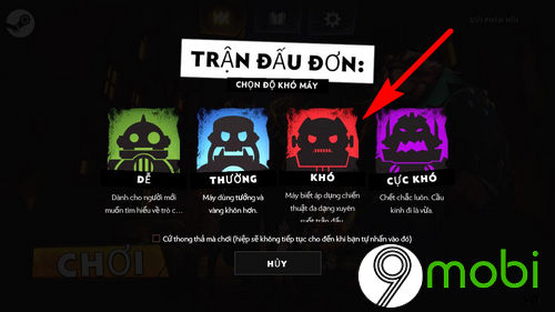 cach choi dota underlords tren dien thoai android iphone 5