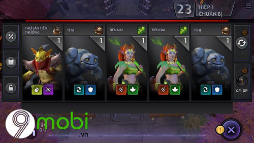 cach choi dota underlords tren dien thoai android iphone 6