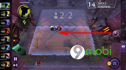cach choi dota underlords tren dien thoai android iphone 9