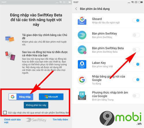 cach cai swiftkey beta tren android 5